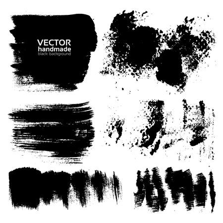 Handdrawing textured brush strokes Stock Vector - 16683394