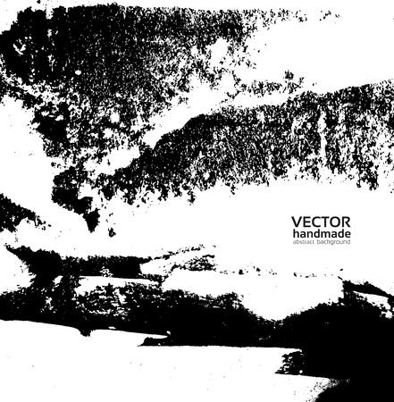 Vector handmade texture Vector