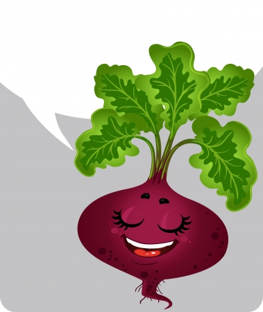 BEETROOT - ABOUT HEALTHY EATING  Stock Vector - 17351573