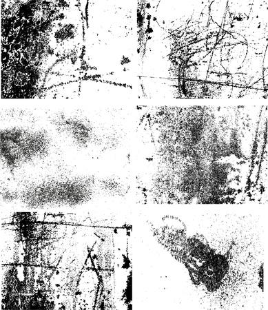 grunge scratched metal  texture Stock Vector - 17351744