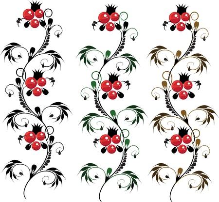 delicate ornament Flower Stock Vector - 17351709