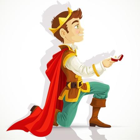 prince: Prince Charmant �tait sur mes genoux demandant le mariage