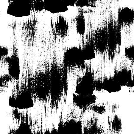 Seamless vector handmade abstract brush strokes background Stock Vector - 18046525