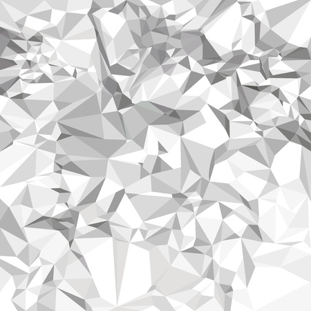 silver background: Abstract crumpled paper background