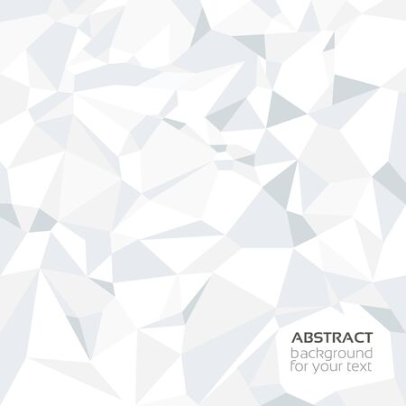 apex: Abstract crumpled paper banner Illustration