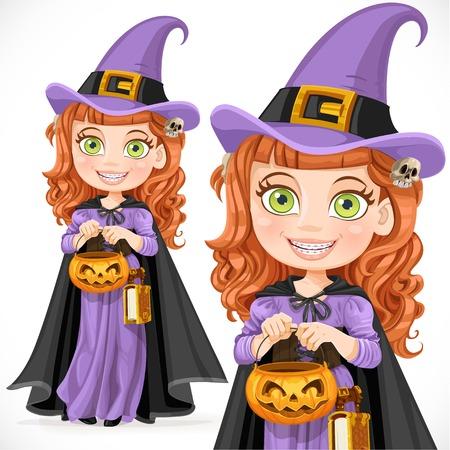 strega: Cute girl strega Trick or Treat