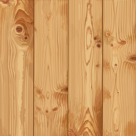 wood planks: Realistic texture of pale wood Illustration