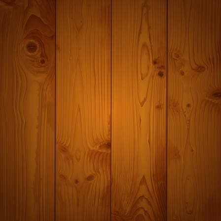 Realistic texture of brown wood Vector