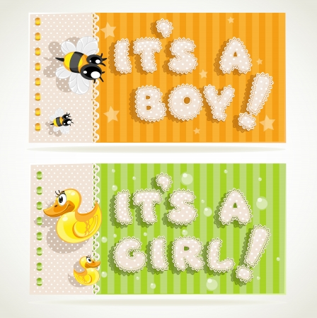 its a boy: It`s a boy and it`s a girl banners 2