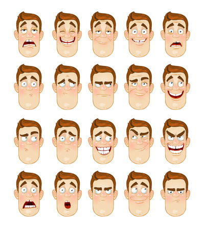thoughtfulness: Man Emotions Face