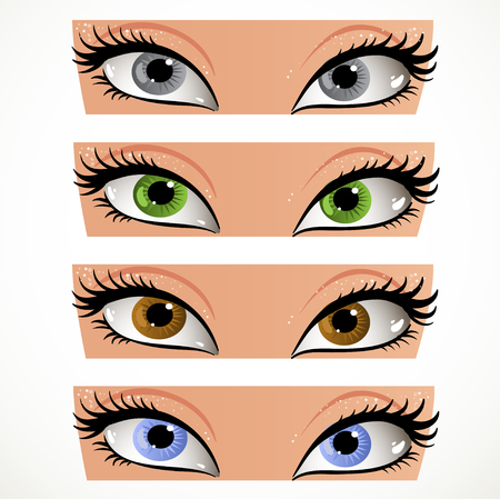 soulful eyes: Color look smb in the face