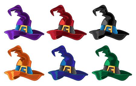 alfarero: Bruja color calienta Vectores