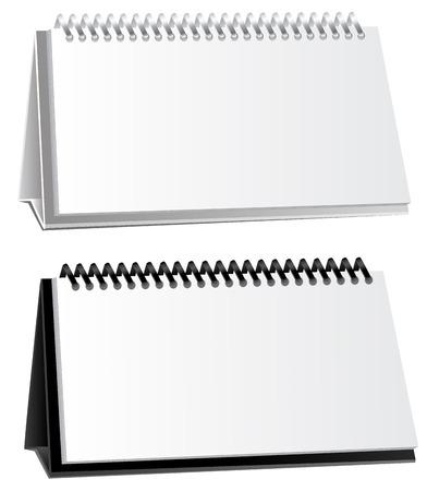 empty background for presentation calendar on the spring Illustration