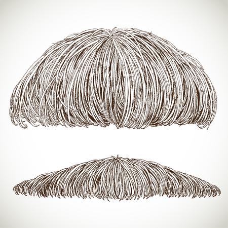 sideburn: lush retro mustache