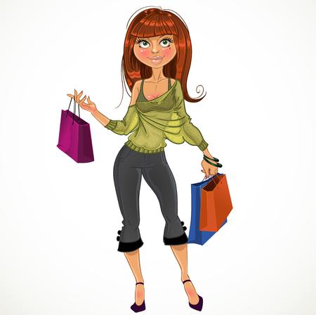 glamur: pretty shopping glamur girl