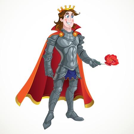 очаровательный: Принц в доспехах дать FLOVER