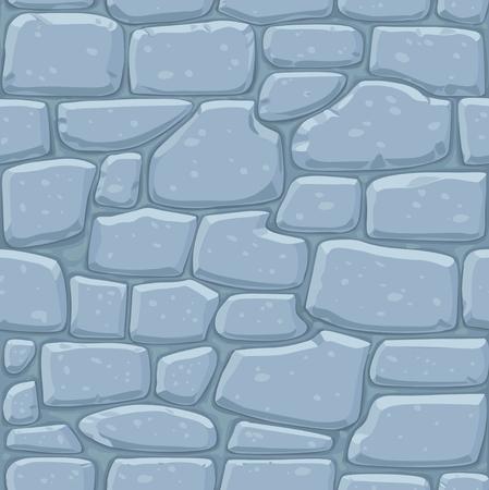 石積みのシームレスなパターン。石の壁