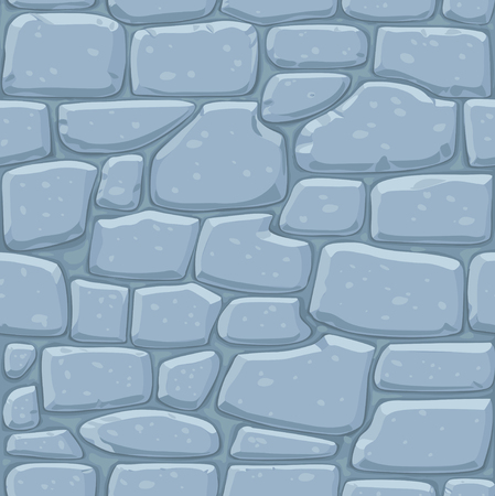 black stone: Seamless pattern of masonry. Stone wall