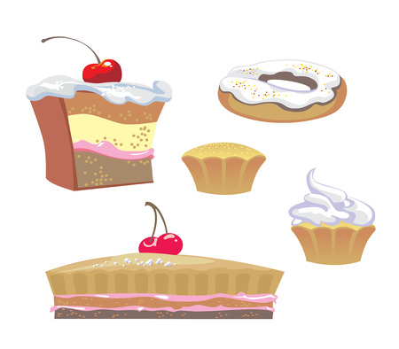 wafer: sweets Illustration