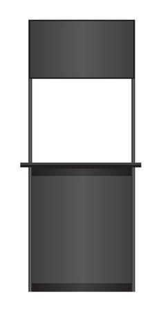 Black counter Vector