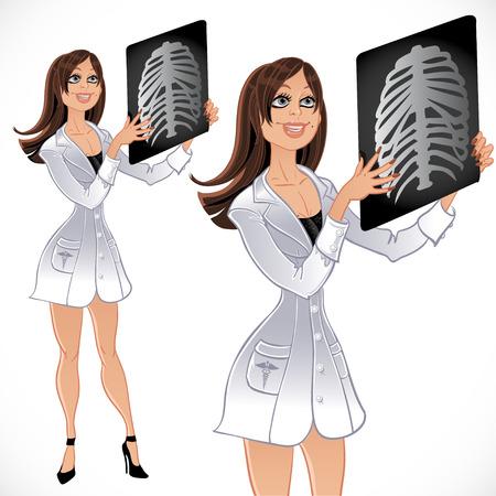 Doctor radiologist Stock Vector - 23151087