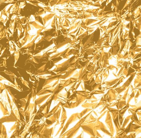 ゴールド箔テクスチャ背景