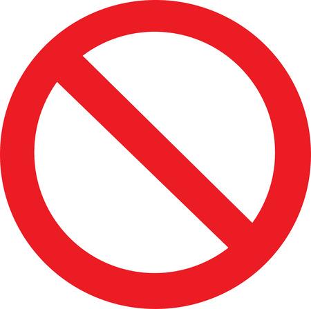 Nicht erlaubt Anmelden Standard-Bild - 23152429