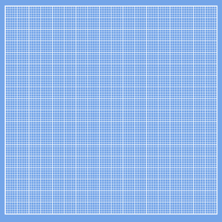 graph paper background: Graph blue paper with white cells Illustration