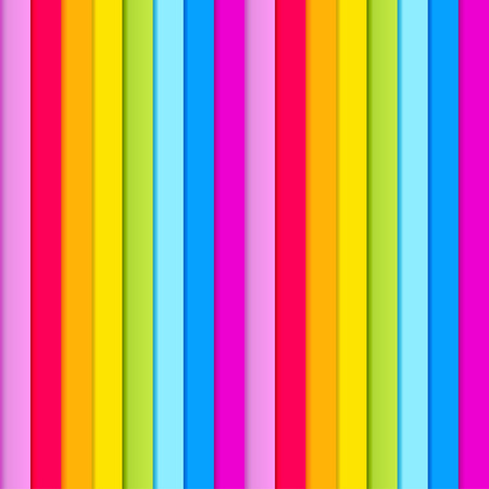 Seamless pattern of  rainbow colored stripes Vector