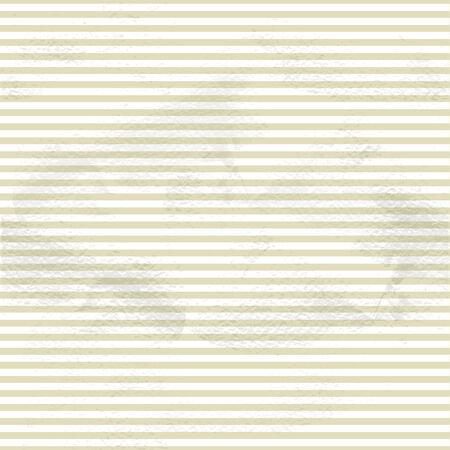 Seamless vintage beige pattern of small horizontal strip on grange paper