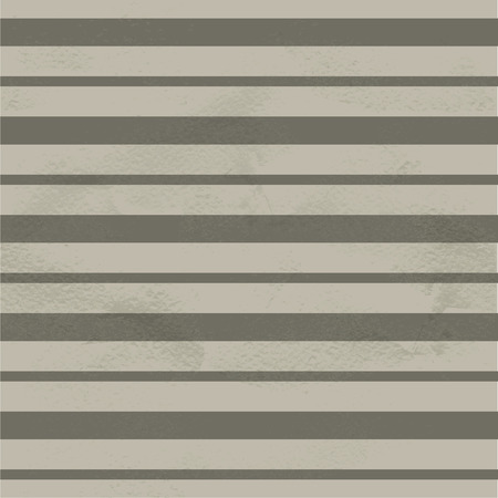 gouache: Seamless vintage pattern of white horizontal thick and thing strips Illustration