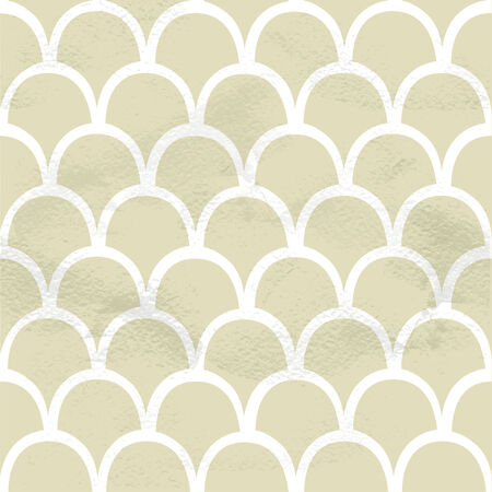semicircular: Seamless grungy vintage pattern from the semicircular scales