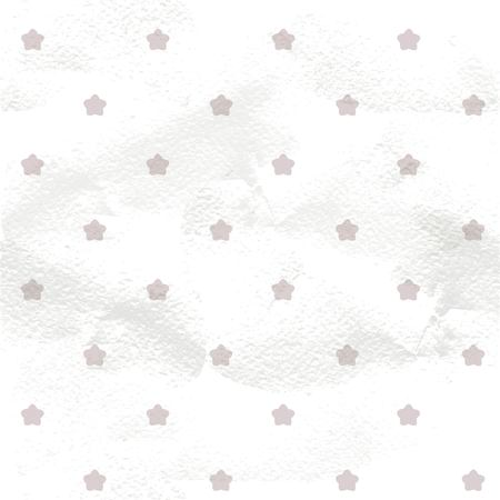 Seamless grange pattern from gold star shape isolated on a white background