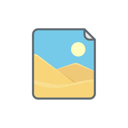 Image instant photo photography picture polaroid icon. Vector illustration