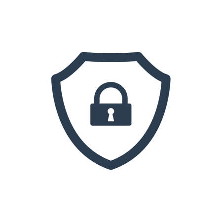 Cyber Security Vector Icon. Vector icon 免版税图像 - 97332989