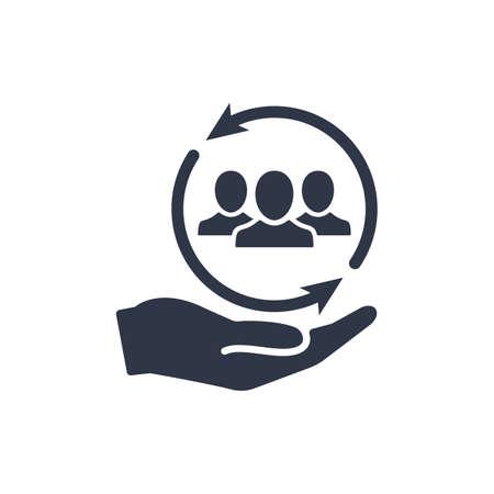 Network full services - Minimal vector icon. Vector illustration Illustration