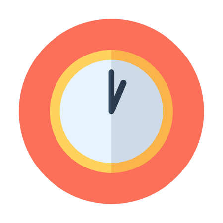 Clock icon. Time icon vector. Date icon