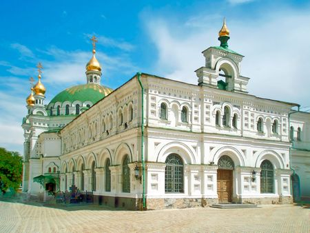 Refectory, or St.Anthony and St.Theodorius Church of The Kiev Laura of the Caves photo