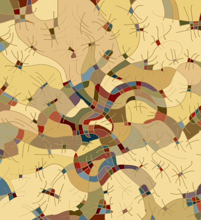 chap: Abstract decorative structure III