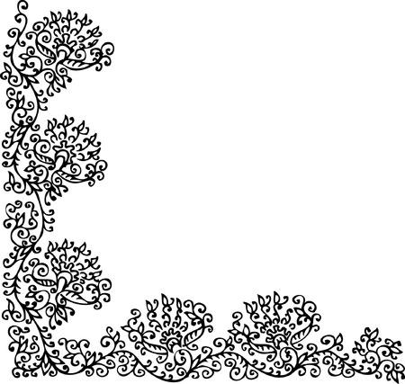 꽃 장식입니다. 오 포 르트 221.