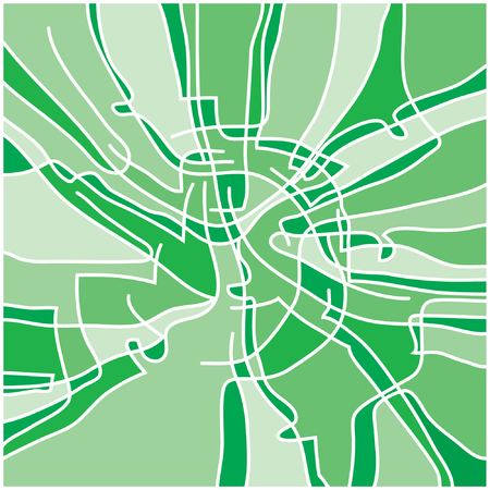 chlorophyll: Chlorophyll structure Illustration