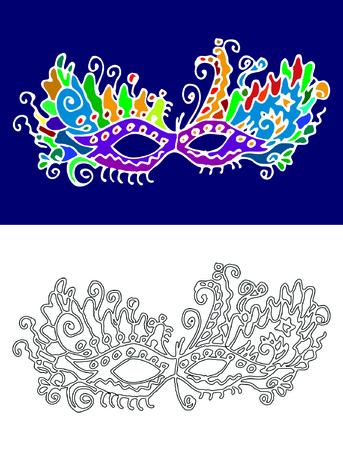 trickery: Carnival mask
