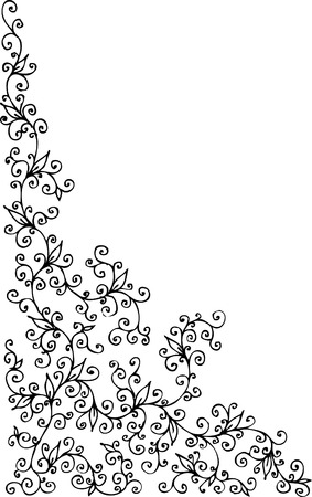 refine: Vignetta floreale. Eau-de-273 forte.