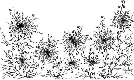 Les Fleurs du mal. Eau-forte 274. Vector