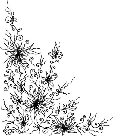 Les Fleurs du mal. Eau-forte 279. Vector