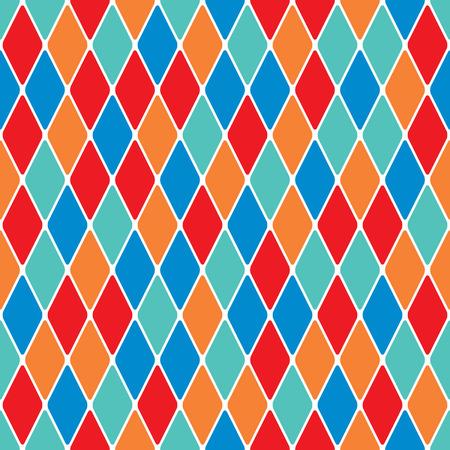 Oophaga parti-coloured nahtlose Muster 3.8 Illustration