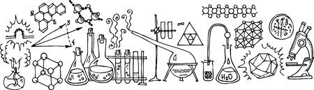 medical study: Laboratorio scientifico  Vettoriali