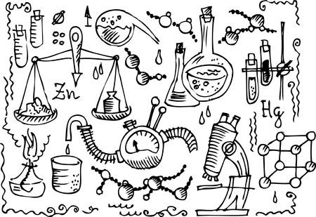 quimica organica: Laboratorio cient�fico 4 Vectores