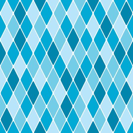 Harlequin winter seamless pattern  イラスト・ベクター素材