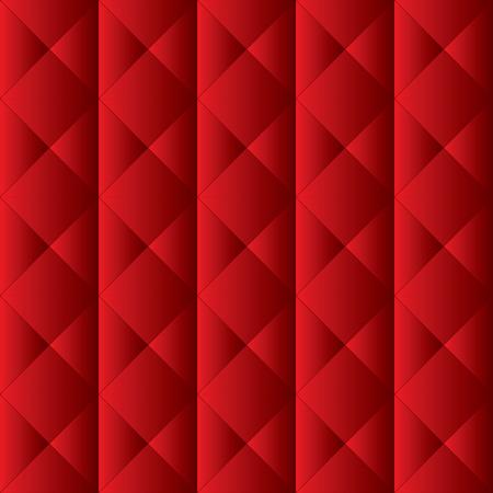 rubin: Red upholstery pattern